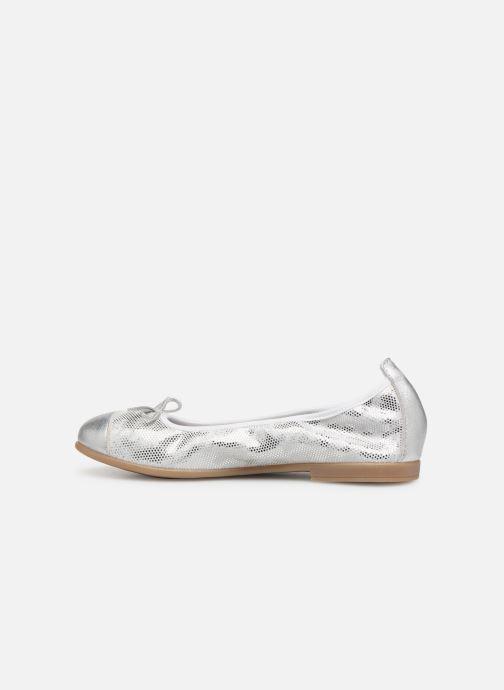 Ballet pumps Bopy Sabaya Silver front view