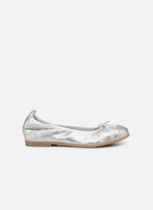 Ballet pumps Bopy Sabaya Silver back view