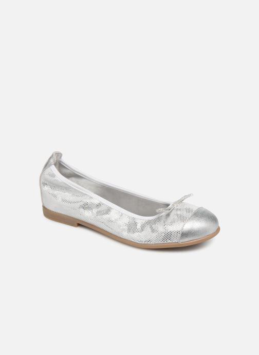Ballet pumps Bopy Sabaya Silver detailed view/ Pair view