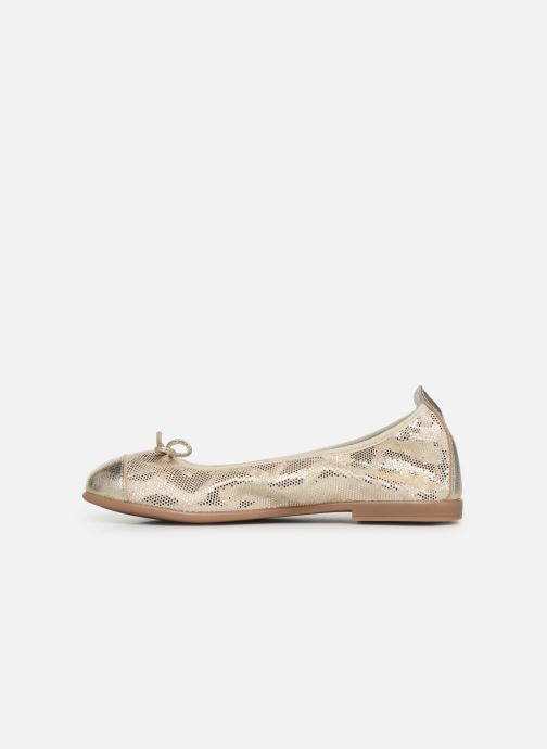 Ballet pumps Bopy Sabaya Bronze and Gold front view