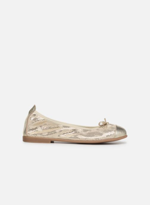 Ballet pumps Bopy Sabaya Bronze and Gold back view
