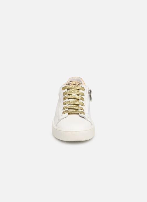 Baskets Bopy Saida Blanc vue portées chaussures