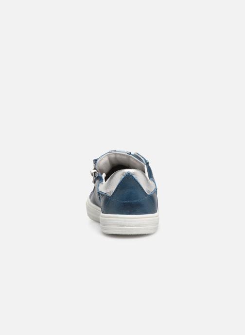Baskets Bopy Sala Bleu vue droite