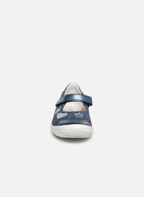 Ballerines Bopy Samsara Bleu vue portées chaussures