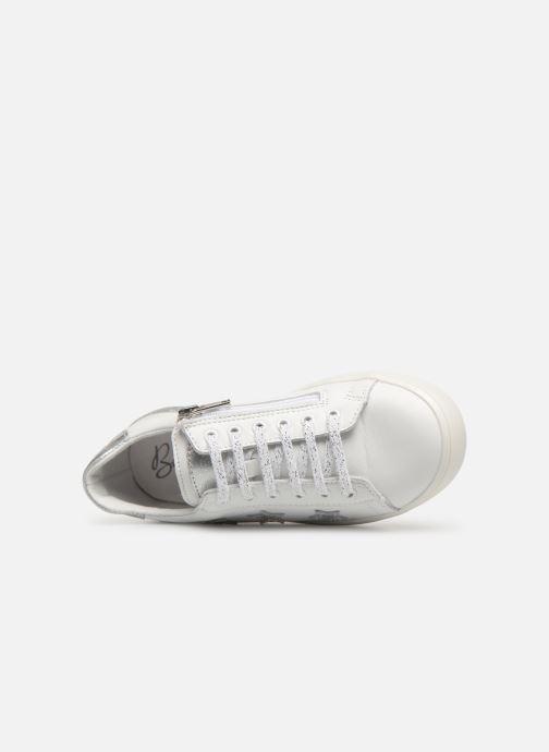 Sneaker Bopy Sastar weiß ansicht von links