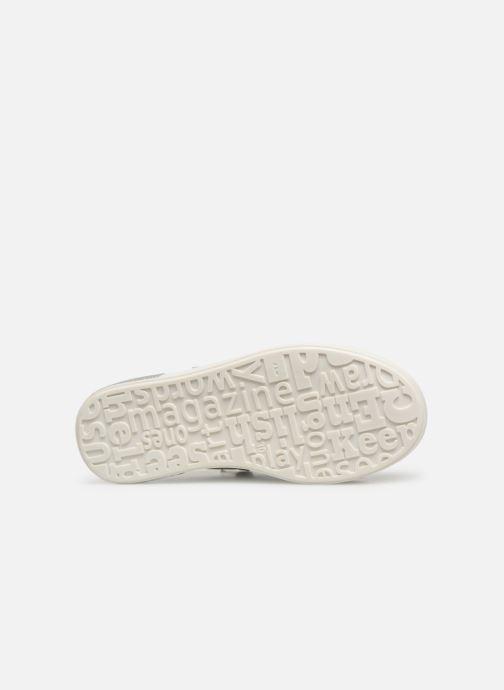 Sneaker Bopy Sastar weiß ansicht von oben