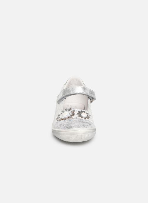 Ballerines Bopy Satou Argent vue portées chaussures