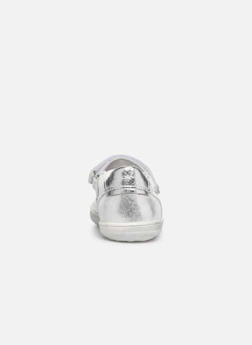Ballet pumps Bopy Satou Silver view from the right