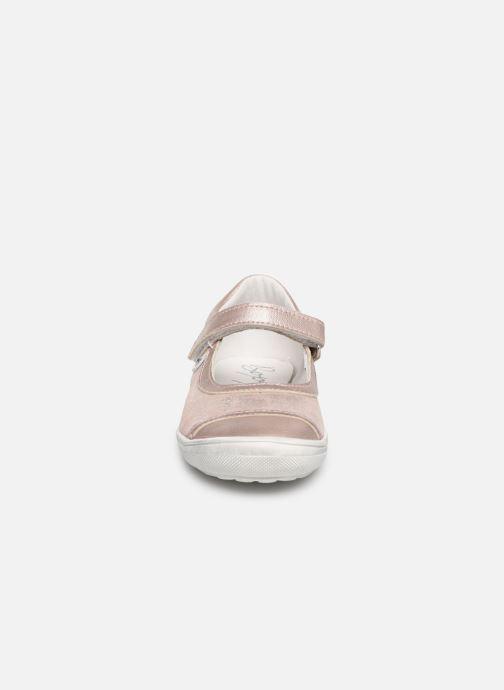 Ballerines Bopy Sentanel Rose vue portées chaussures