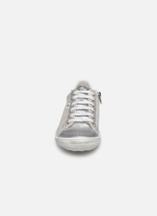 Baskets Bopy Sentel Argent vue portées chaussures