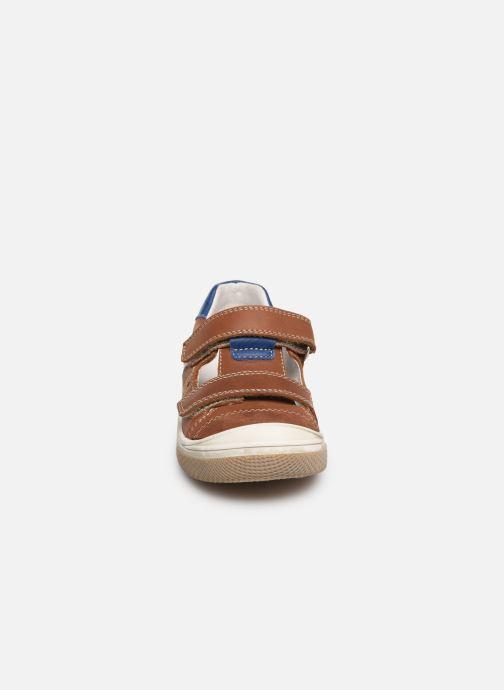 Baskets Bopy Valdem Marron vue portées chaussures