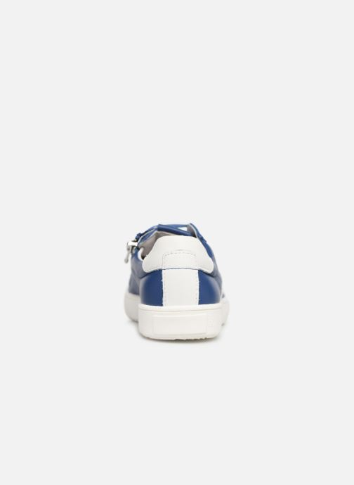 Baskets Bopy Valdo Bleu vue droite
