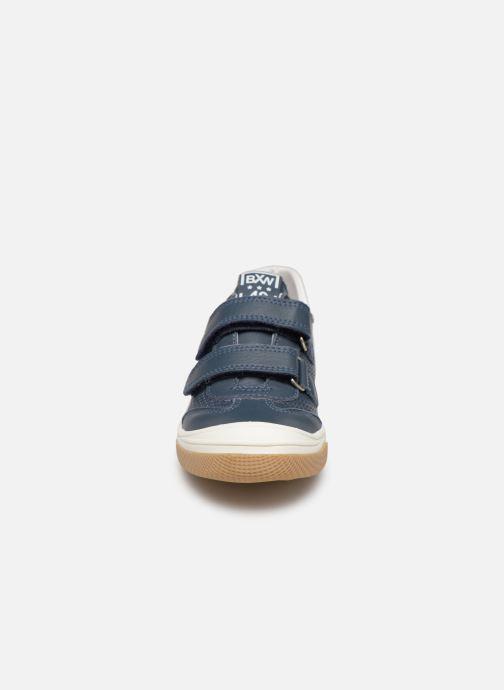 Baskets Bopy Vasile Bleu vue portées chaussures