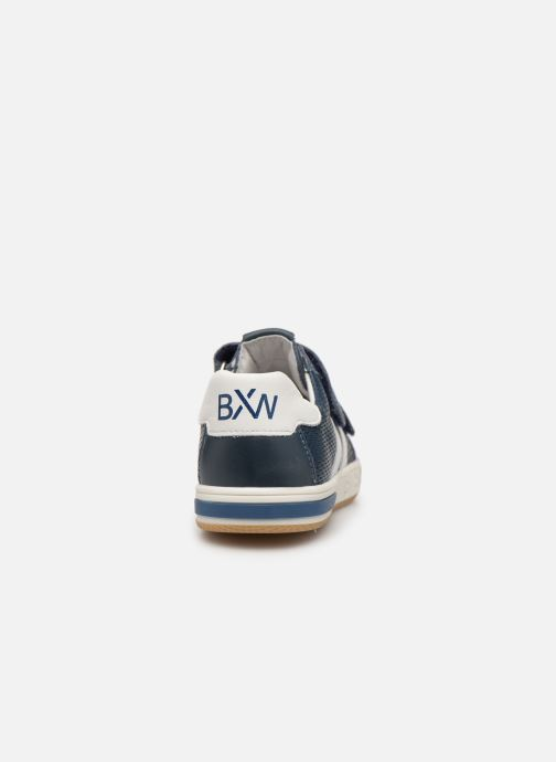 Sneakers Bopy Vasile Blå Bild från höger sidan