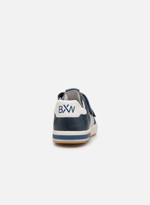Baskets Bopy Vasile Bleu vue droite
