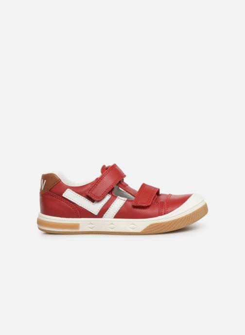 Sneakers Bopy Vito Rood achterkant