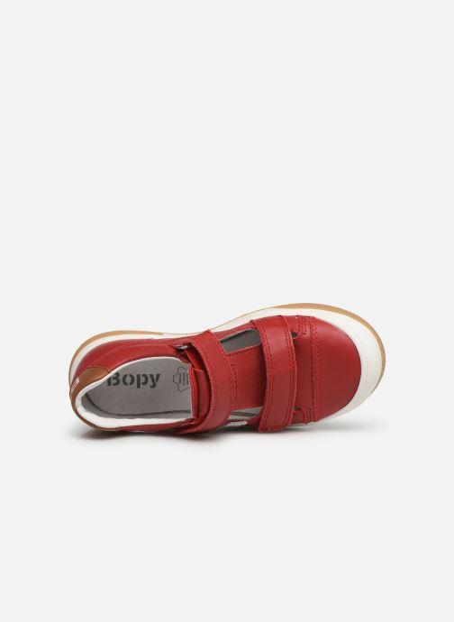Sneakers Bopy Vito Rosso immagine sinistra