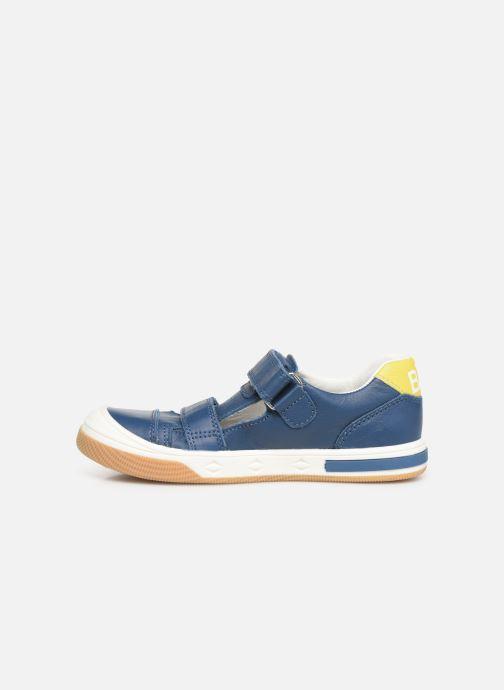 Sneakers Bopy Vito Azzurro immagine frontale