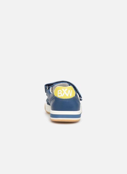 Baskets Bopy Vito Bleu vue droite