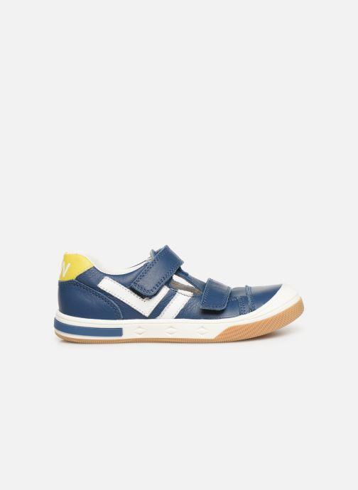 Sneakers Bopy Vito Azzurro immagine posteriore