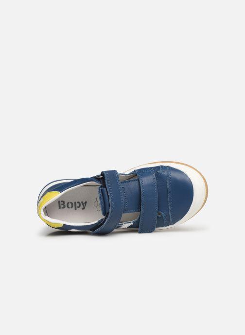 Sneakers Bopy Vito Azzurro immagine sinistra