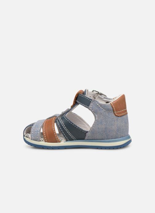 Sandales et nu-pieds Bopy Zac Bleu vue face