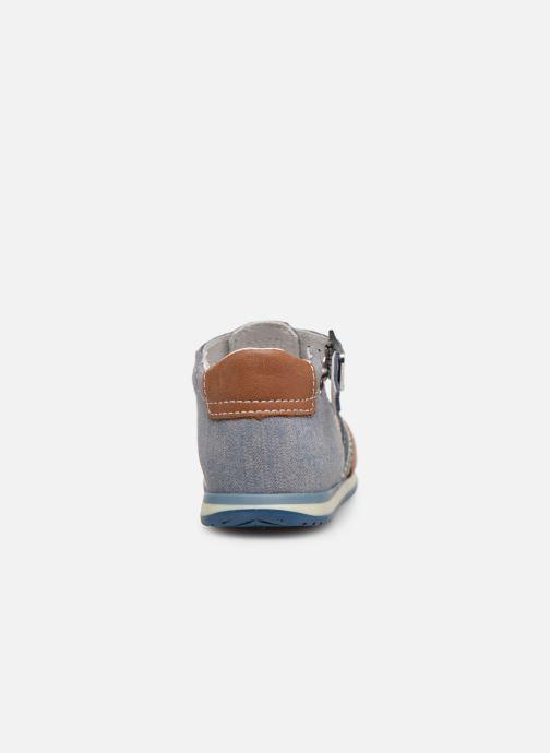 Sandales et nu-pieds Bopy Zac Bleu vue droite