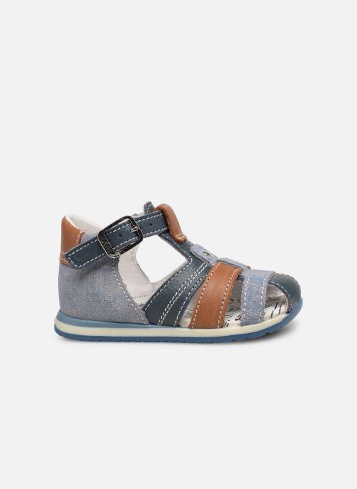 Sandales et nu-pieds Bopy Zac Bleu vue derrière