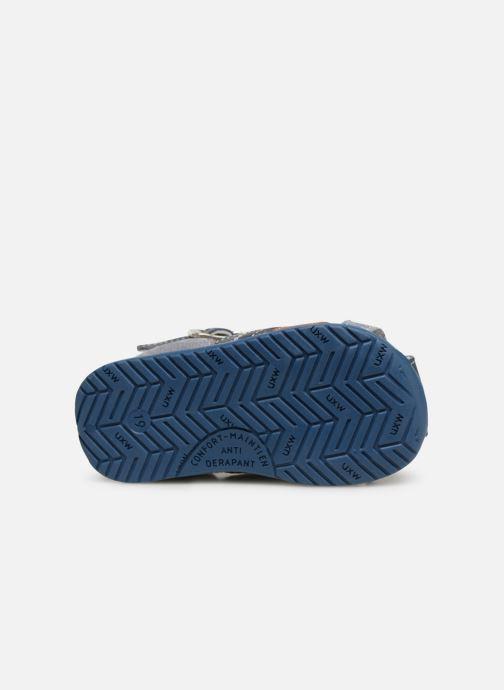 Sandales et nu-pieds Bopy Zac Bleu vue haut