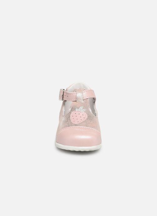 Ballerines Bopy Zaniel Rose vue portées chaussures