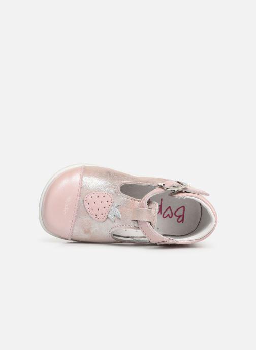 Ballerinas Bopy Zaniel rosa ansicht von links
