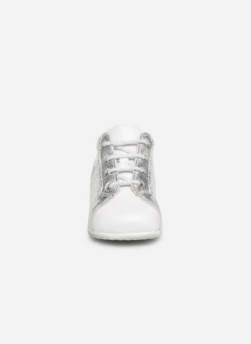 Bottines et boots Bopy Zevena Blanc vue portées chaussures