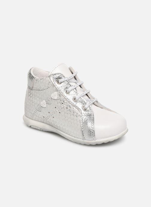 Ankelstøvler Bopy Zevena Hvid detaljeret billede af skoene