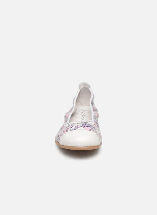 Ballerines Bopy Sacra Violet vue portées chaussures