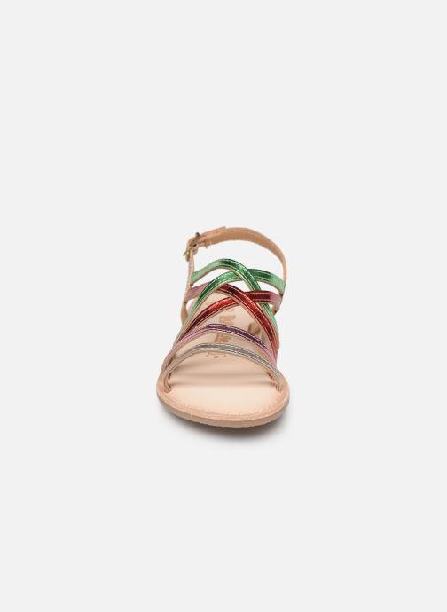 Sandales et nu-pieds Bopy Fabrille Lilybellule Multicolore vue portées chaussures