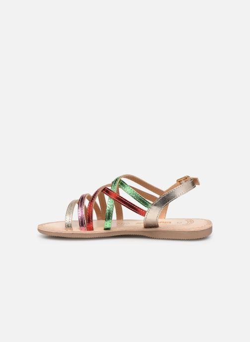 Sandales et nu-pieds Bopy Fabrille Lilybellule Multicolore vue face