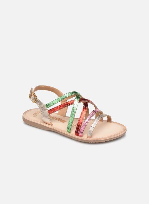Sandales et nu-pieds Bopy Fabrille Lilybellule Multicolore vue détail/paire