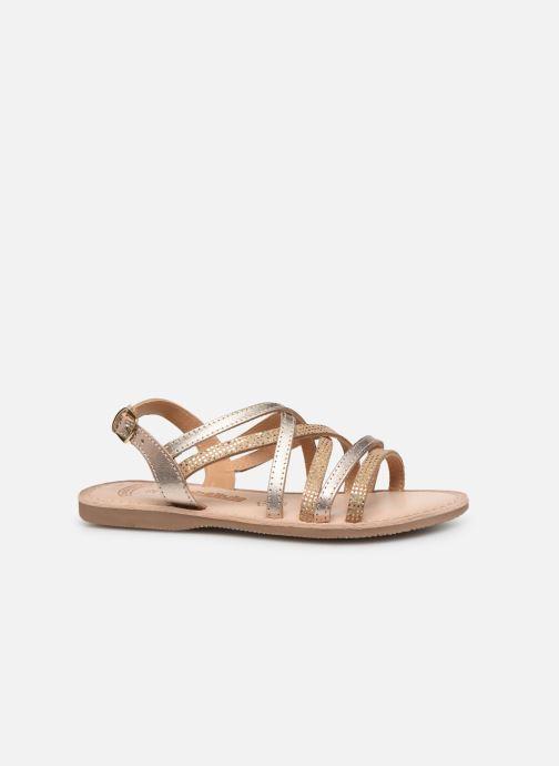 Sandales et nu-pieds Bopy Fabrille Lilybellule Or et bronze vue derrière