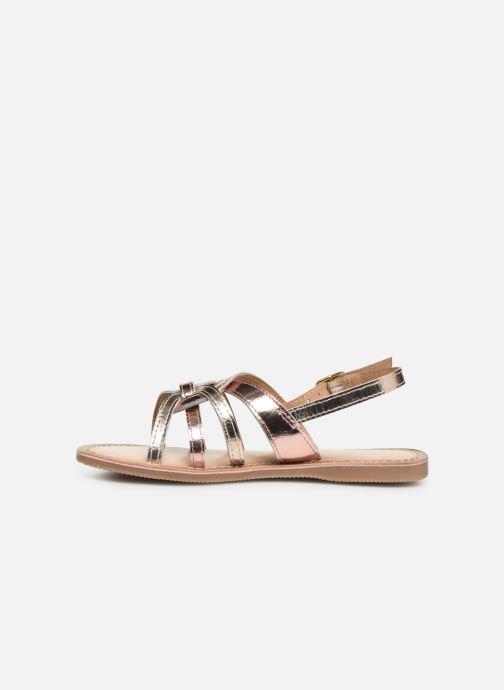 Sandales et nu-pieds Bopy Facila Lilybellule Rose vue face