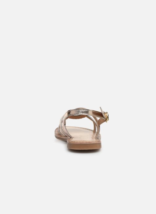 Sandals Bopy Facila Lilybellule Pink view from the right