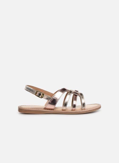 Sandales et nu-pieds Bopy Facila Lilybellule Rose vue derrière