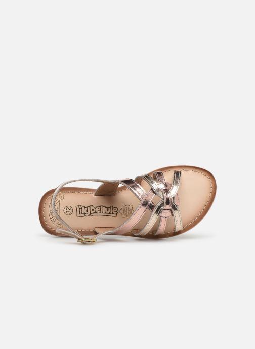 Sandales et nu-pieds Bopy Facila Lilybellule Rose vue gauche