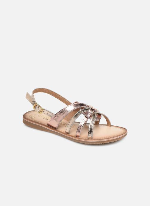 Sandals Bopy Facila Lilybellule Pink detailed view/ Pair view