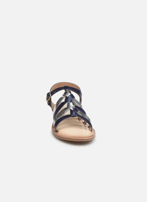 Sandales et nu-pieds Bopy Farciate Lilybellule Bleu vue portées chaussures