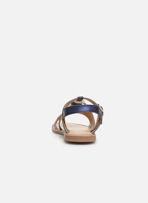 Sandales et nu-pieds Bopy Farciate Lilybellule Bleu vue droite