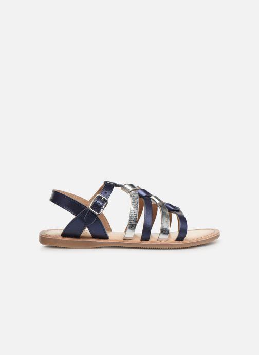 Sandales et nu-pieds Bopy Farciate Lilybellule Bleu vue derrière