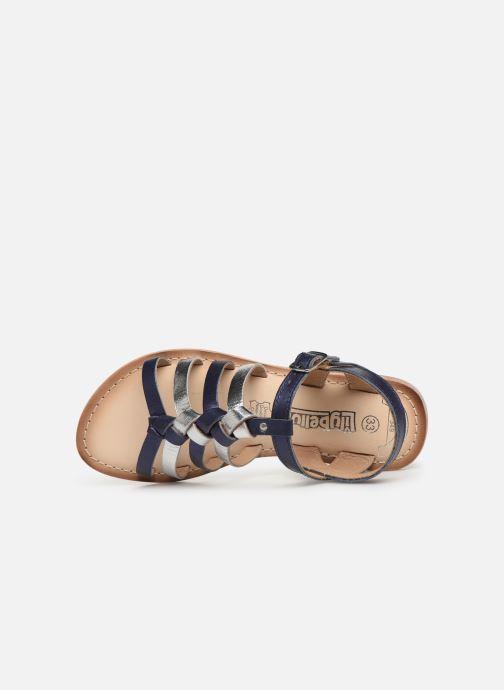 Sandales et nu-pieds Bopy Farciate Lilybellule Bleu vue gauche