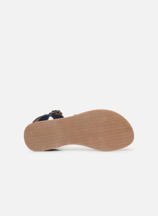 Sandales et nu-pieds Bopy Farciate Lilybellule Bleu vue haut
