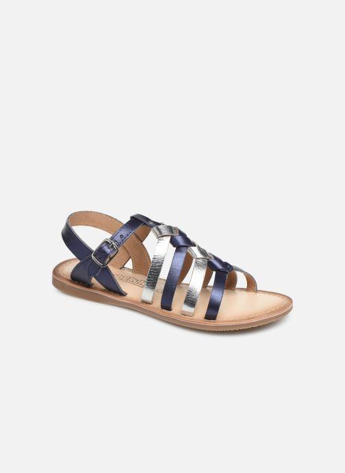 Sandales et nu-pieds Bopy Farciate Lilybellule Bleu vue détail/paire