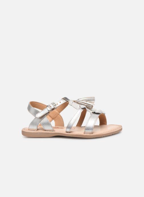 Sandales et nu-pieds Bopy Fitna Lilybellule Argent vue derrière